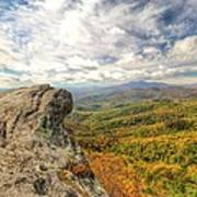 Fall From The Blowing Rock Art Print