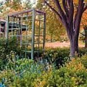 Fall Herb Garden0981 Art Print