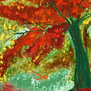 Fall Impression By Jrr Art Print