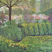 Fall In Monet's Garden Art Print