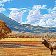 Fall In Paradise Valley Art Print