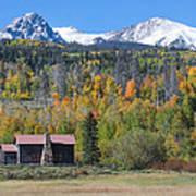Fall In Summit County Art Print