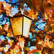 Fall In The Air Art Print
