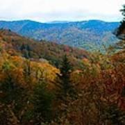 Fall In The Blue Ridge Mountains Art Print