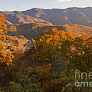Fall In The Smoky Mountains Art Print