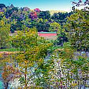 Fall In West Virginia Art Print