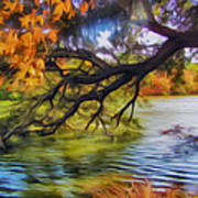 Fall Landscape 4 Art Print
