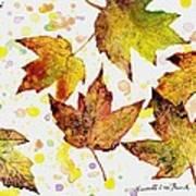 Fall Leaves Art Print