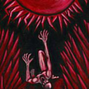 Fall Of Icarus Art Print