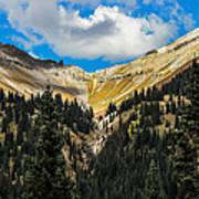 Fall On Red Mountain Pass Art Print