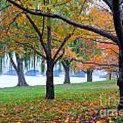 fall on the Potomac River Art Print