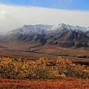 Fall Over Mountain Art Print