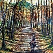 Fall Ride Art Print