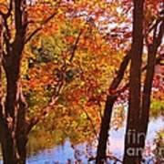 Fall River Nova Scotia Art Print