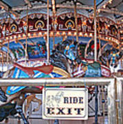 Fall River Ride Exit Art Print