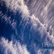 Fall Streak Clouds 5 Art Print