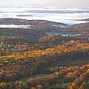 Fall Sunrise Over New Jersey Art Print