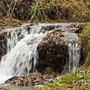Fall Time Waterfalls Art Print