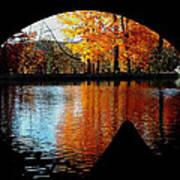 Fall Under The Bridge Art Print