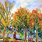 Fall2014-12 Art Print by Vladimir Kezerashvili