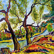 Fall2014-2 Art Print by Vladimir Kezerashvili