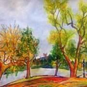 Fall2014-5 Art Print by Vladimir Kezerashvili