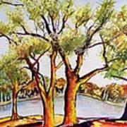 Fall2014-7 Art Print by Vladimir Kezerashvili