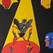 Fallen Hero  Art Print