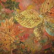 Fallen Leaves II Art Print