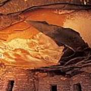 Fallen Roof Ruin Art Print