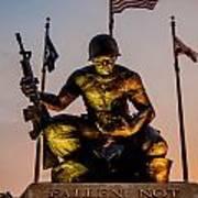 Fallen Soldier 2 Art Print
