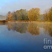 Falling For Reflections... Art Print