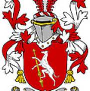 Fallon Coat Of Arms Irish Art Print