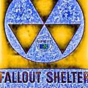 Fallout Shelter Abstract 4 Art Print