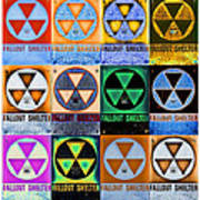 Fallout Shelter Mosaic Art Print