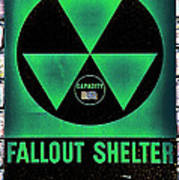 Fallout Shelter Wall 1 Art Print