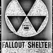 Fallout Shelter Wall 10 Art Print