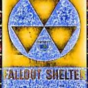 Fallout Shelter Wall 3 Art Print