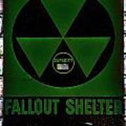 Fallout Shelter Wall 4 Art Print