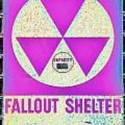 Fallout Shelter Wall 6 Art Print