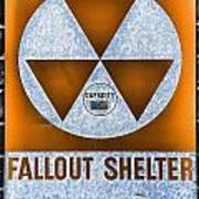Fallout Shelter Wall 8 Art Print