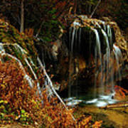Falls At Hanging Lake Art Print