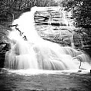 Falls Branch Falls Art Print