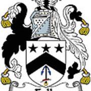 Falls Coat Of Arms Irish Art Print