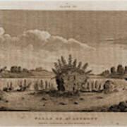 Falls Of St. Anthony, 1821, Narrative Journal Of Travels Art Print