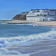 Falmouth Heights Beach Cape Cod Art Print