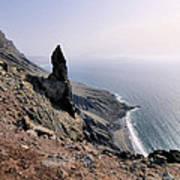 Famara Cliffs On Lanzarote Art Print
