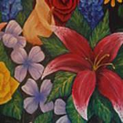 Family Flowers Art Print
