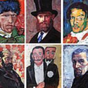 Famous Artist Self Portraits Art Print