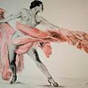 Fan Dancer 2 Art Print